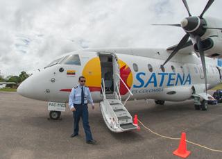 Caño Cristales como llegar en avioneta Satena