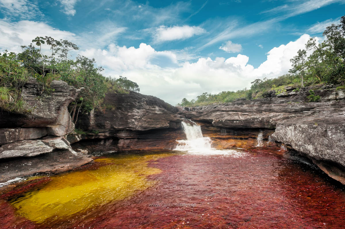Cascada Carol Cristal / Caño Cristales, Colombia