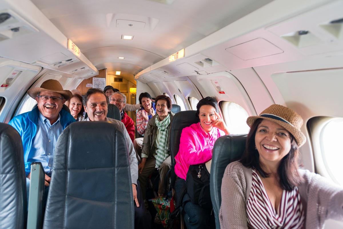 Mis compañeros de vuelo el 15 de junio 2015