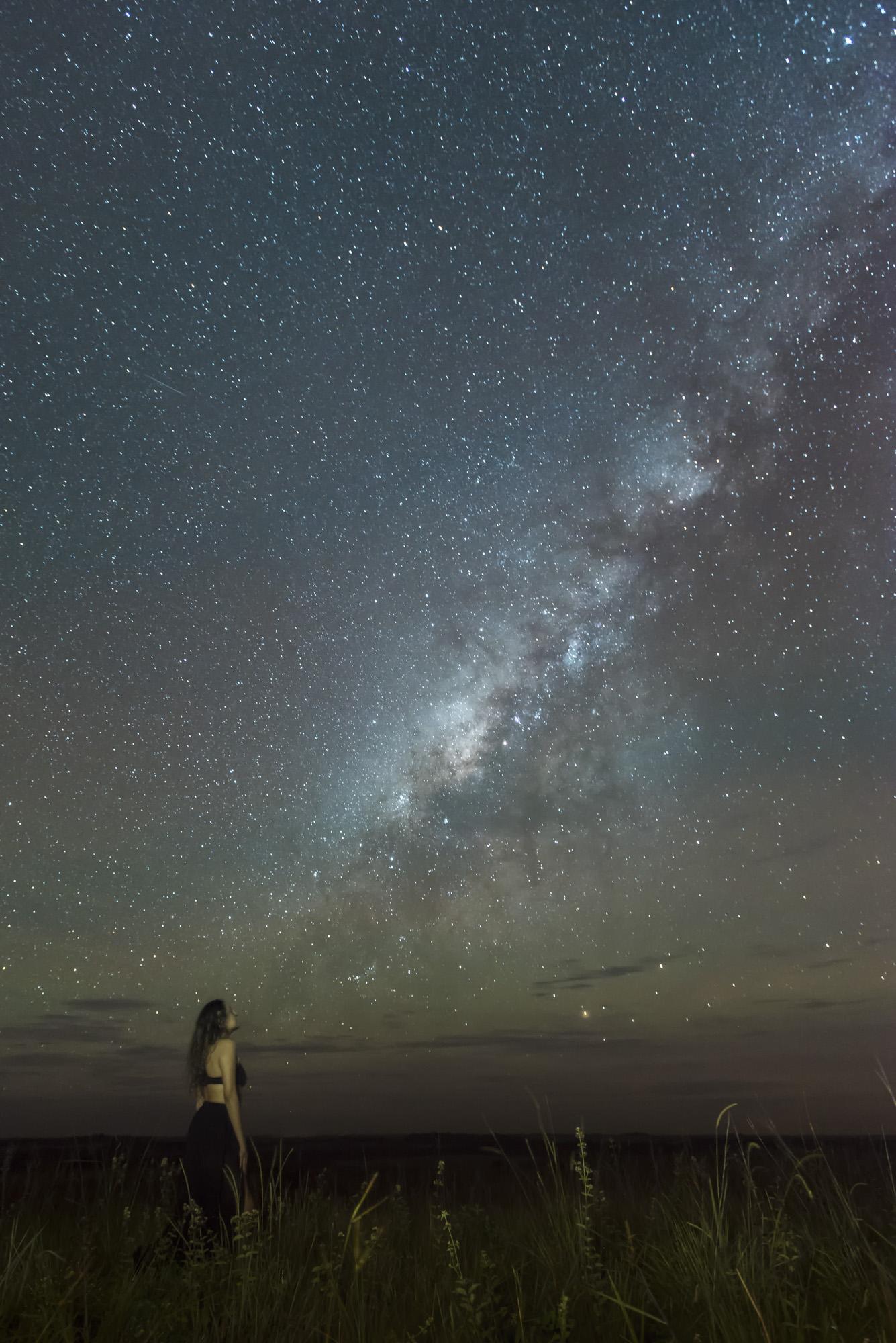 La hermosa Vía Láctea de La Macarena