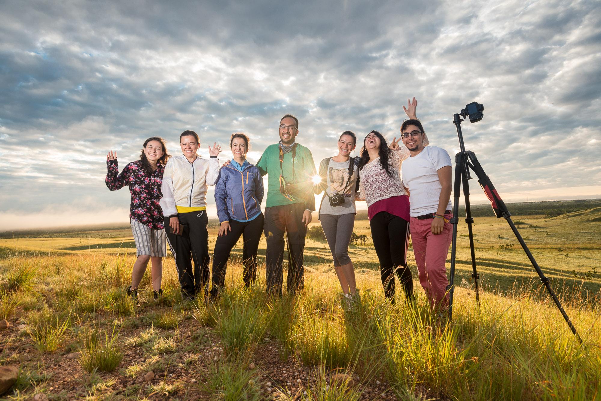 Estudiantes Workshop de Fotografia