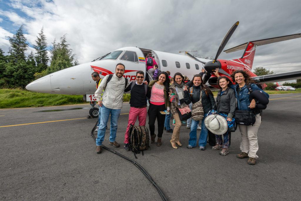 Vuelo Charter desde Bogotá a La Macarean Caño Cristales Cómo